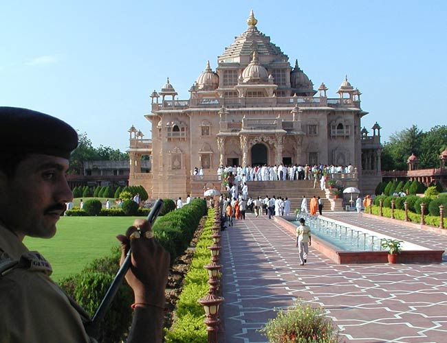 Acquitted in akshardham case cleric says has faith in scs akshardham temple in gandhinagar altavistaventures Gallery