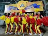 CSK cheerleaders