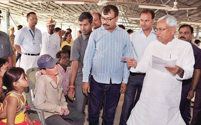 CM Nitish brings back Manjhi's sops in Bihar - India News