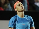 Rafael Nadal slips on clay again, crashes out of Italian Open