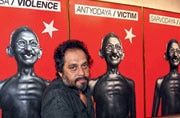 What makes Riyas Komu one of India's most distinctive artists?