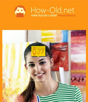 How old are you? This Microsoft site reveals age from photo