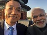 Modi's selfie with Li