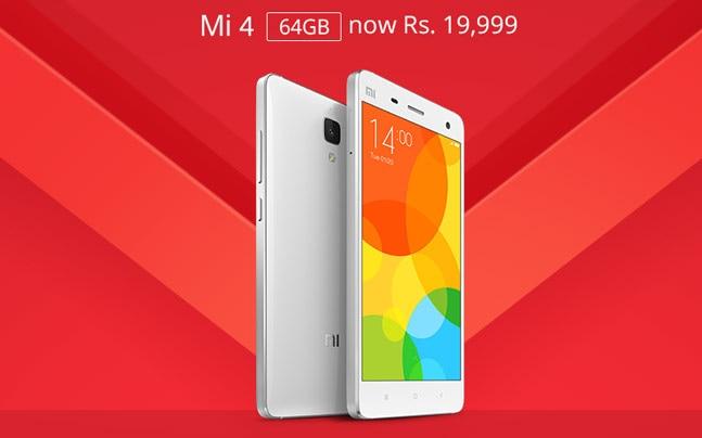 Xiaomi Mi 4 64GB model gets Rs 4,000 price cut - Technology News