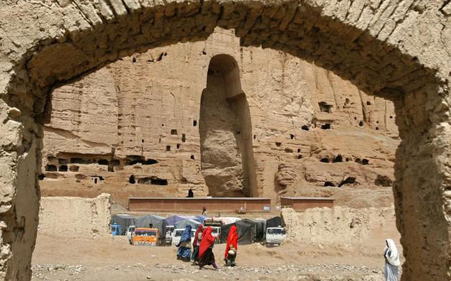 World-famous Buddhas of Bamiyan resurrect in Afghanistan