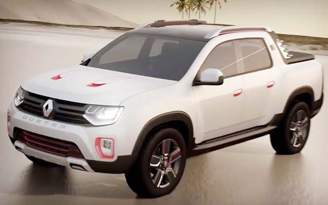 Renault Duster Oroch Officially Launched In South America