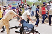 Clashes in Jammu over removal of posters of Bhindranwale