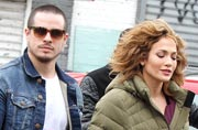 Spotted: Jennifer Lopez walks hand in hand with Casper Smart after claiming she's single