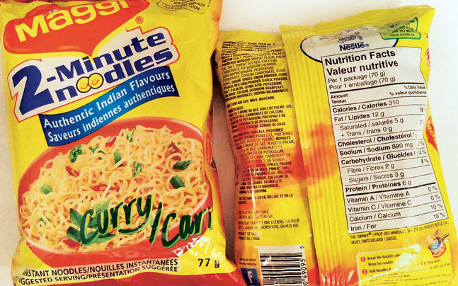maggi noodle in india India's capital on wednesday banned the sale of a beloved instant noodle after  tests determined that samples of the product contained higher.