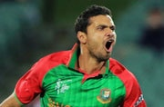 Bangladesh captain Mashrafe Mortaza injured in road accident
