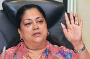 Lalit Modi row: Raje to stay as BJP top brass throws a shield around her