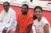 Shilpa Shetty to Juhi Chawla: B-Town celebrates Yoga Day