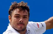 Stanislas Wawrinka knocked out of Aegon Championships