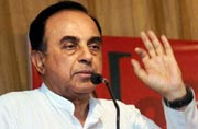 Homos are genetically handicapped: BJP's Subramanian Swamy