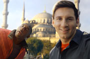 What happens when Turkish Airlines get Kobe to fight it out with Messi?