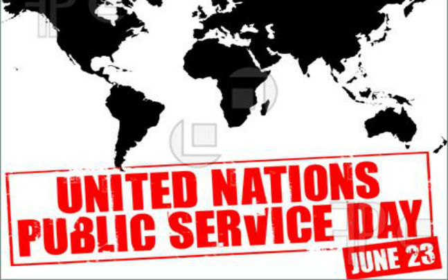United Nations Public Service Day - 23 June  IMAGES, GIF, ANIMATED GIF, WALLPAPER, STICKER FOR WHATSAPP & FACEBOOK