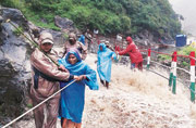 Kedarnath Yatra suspended till June 30, choppers rescue pilgrims in Uttarakhand