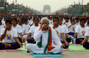 Creating a world record: The International Yoga Day