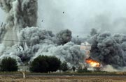 Iraqi fighter jet accidentally drops bomb over Baghdad, kills 12 people