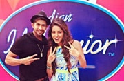 Asha Negi pranked on Indian Idol Junior set