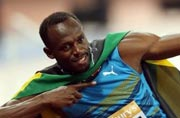 Usain Bolt bounces back with 100 metre win in London