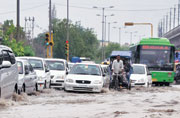 Delhi government using stopgap measures to deal with monsoon woes