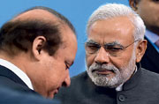 On a surer footing now, Pakistan's PM budgets for the backlash from his overture to Modi. The road forward from the Ufa talks depends on both sides staying the course.