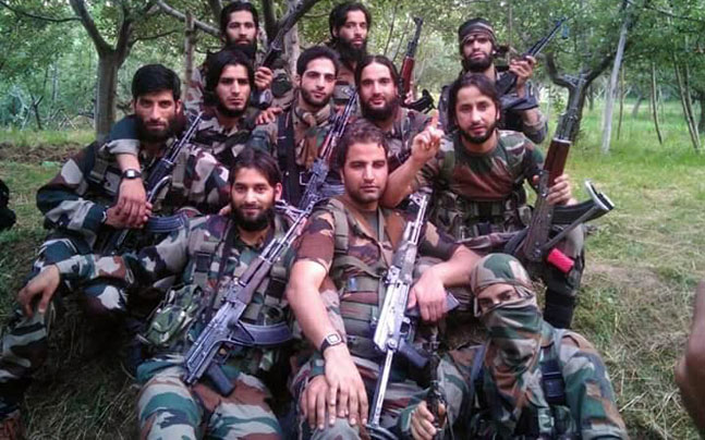 Image result for Hizbul Mujahideen, pictures
