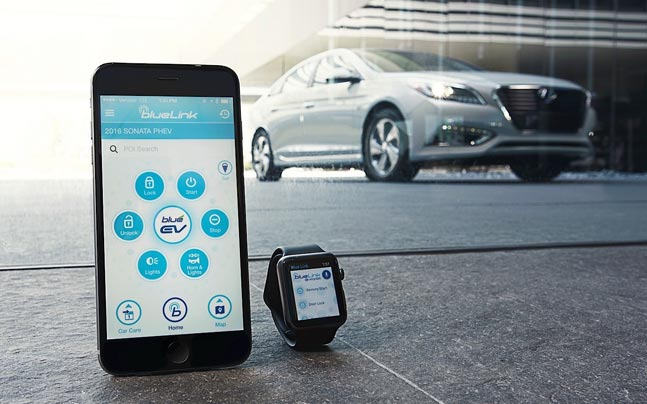 Hyundai develops Blue Link App for Apple Watch - Auto News