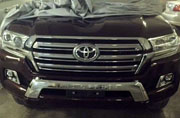 Specs leaked for the 2016 Toyota Land Cruiser