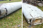 Plane debris found off Reunion coast. Is it from MH370?