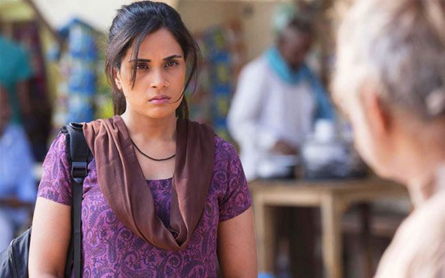 Richa Chadha plays Devi, one of the lead characters in Masaan