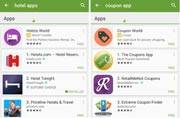 Sponsored apps makes its way in Google Play search results