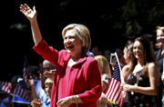 China is stealing secrets from US, says Hillary Clinton