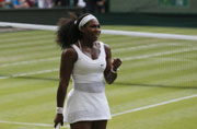 Serena Williams staves off Heather Watson at Wimbledon 2015