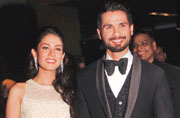 Just-married Shahid-Mira party with B-town pals