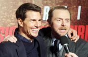 Tom Cruise is kind of vulnerable, says co-actor Simon Pegg