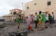 13 dead after Somali Islamist group Al Shabaab attacks Mogadishu hotel
