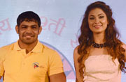 Pro Wrestling League launched in presence of Sushil Kumar
