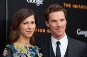 Christopher Carlton it is! Cumberbatch, Hunter finally name their baby boy