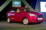 Ford Figo Aspire launched for Rs 4.89 lakh
