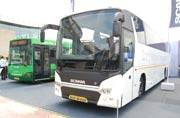 Scania showcases ethanol fuelled Green Bus and premium Metrolink Buses at ICEPT 2015