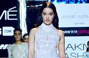 LFW Day 3: Of showstopper Shraddha Kapoor, sports luxe and rosy details