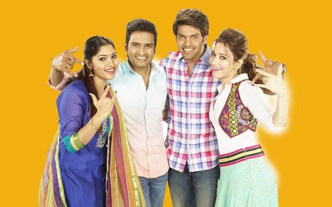 Bhanu, Santhanam, Arya and Tamanaah in VSOP