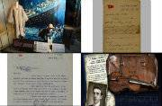 Titanic's Lunch Menu goes for auction. Know some most expensive items from Titanic memorabilia