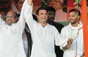 Rahul Gandhi may have put his best foot forward but that doesn't seem enough to pull Congress out of the morass
