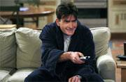Celebrating Charlie Sheen's 50th birthday with his outrageous scenes in Two And a Half Men