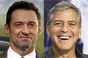 Hugh Jackman would have had the hots for George Clooney if he was a woman