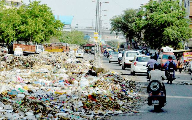 garbage menace in our locality Does your locality is facing the problem of sanitary condition and want to write a letter to the municipal chairman regarding poor sanitary conditions of your area.