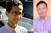 Ahmed Mohammed receives a letter from George Takei and it is brilliant